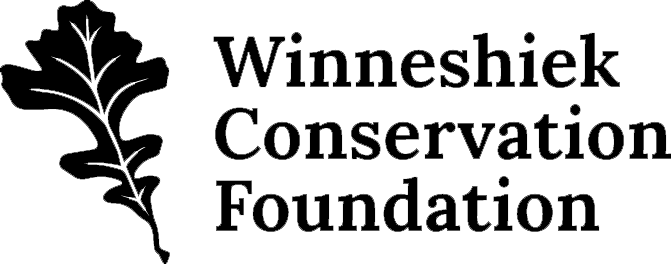 Winneshiek Conservation Foundation Logo with Leaf